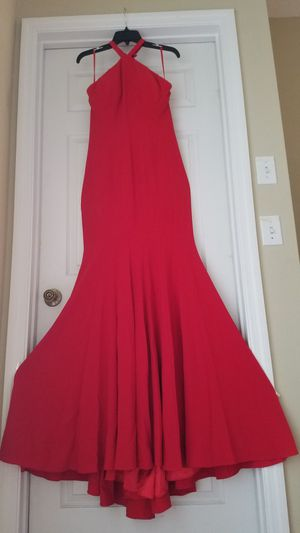 Jovani red long dress for Sale in Clermont, FL
