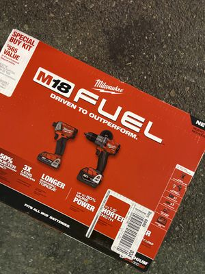 ⭐️⭐️⭐️⭐️ Milwaukee M18 FUEL combo impact drill and hammer drill⭐️⭐️⭐️ for Sale in Santa Ana, CA