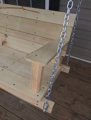 Brand New 5ft porch swing w/ full arm rest for Sale in Atlanta, GA