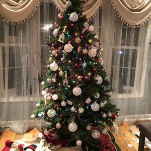 7 FT. Sparkling Amelia Pine Slim Led-pre-lit Tree for Sale in Alexandria, VA