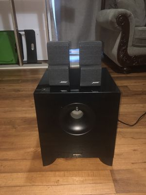 Energy subwoofer and 2cube BOSSE speakers for Sale in Concord, CA
