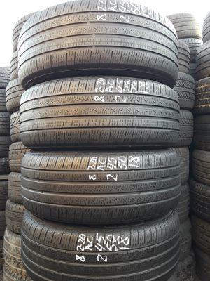 245/50-18 #4 RF tires for Sale in Alexandria, VA