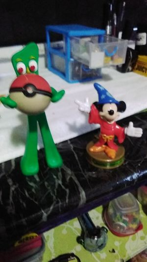 GUMBY N POKEY POKEMON BALL MICKEY MOUSE for Sale in Fullerton, CA
