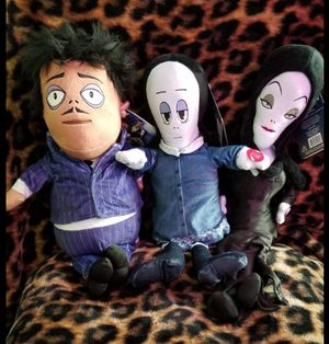 Addams Family Singing plush dolls for Sale in Tamarac, FL