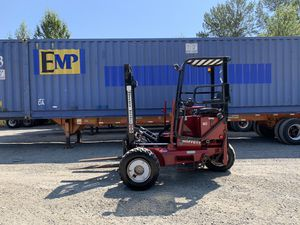 2004 MOFFETT M5500 4-WAY PIGGYBACK FORKLIFT for Sale in Sumner, WA