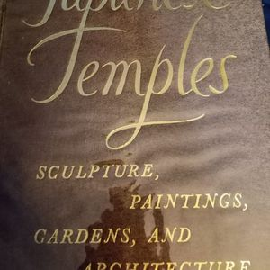 Japanese Temples Book for Sale in Manchester, CT