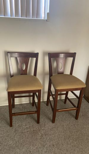 TWO TALL CHAIRS for Sale in Anaheim, CA