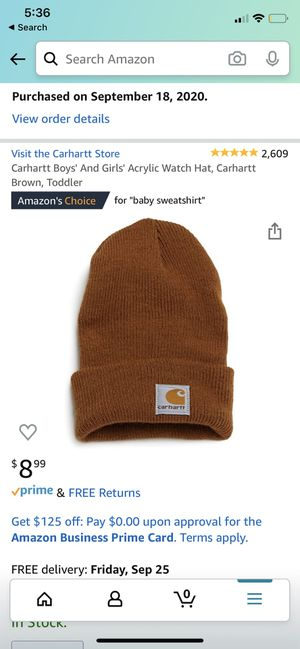 Carhartt toddler hat for Sale in Austin, TX