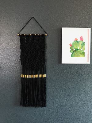 Macramé wall hanging for Sale in Denver, CO