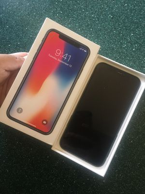 iPhone X 64gb for Sale in Phoenix, AZ