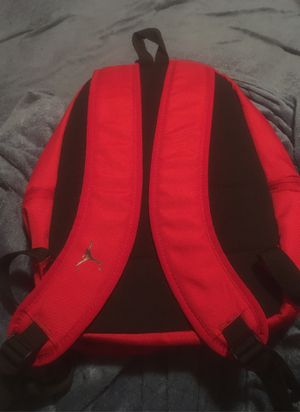 Authentic Jordan red backpack new .. make offer for Sale in Parlier, CA