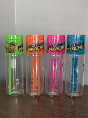 Detective Pikachu Slurpee cup set, all 4 colors for Sale in Pico Rivera, CA