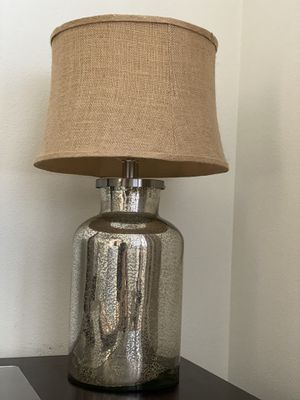 Silver table lamp for Sale in Carlsbad, CA