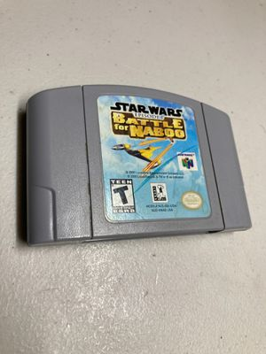 Nintendo 64 Star Wars episode one battle for Naboo for Sale in Coral Gables, FL