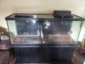 120gal tank with stand and accessories. for Sale in San Diego, CA