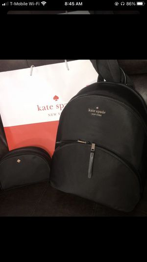 New Kate Spade ♠️ backpack with cosmetic bag for Sale in North Las Vegas, NV