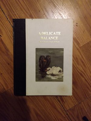 A Delicate Balance - The National Library of Poetry- 1995 for Sale in San Antonio, TX