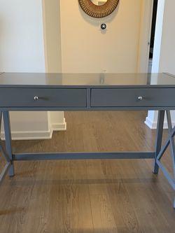 Gray X Frame Desk for Sale in Irvine,  CA