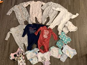 9 month girl pjs (14 pairs) for Sale in Aurora, IL