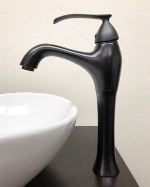 New $35 Modern Bathroom Faucet Vessel Vanity Sink Single Hole Basin, 3 Finish for Sale in Pico Rivera, CA