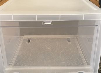 Large Drop-Front Shoe Box Translucent for Sale in East Orange,  NJ