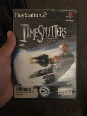 Timesplitters Future Perfect PS2 for Sale in Fresno, CA