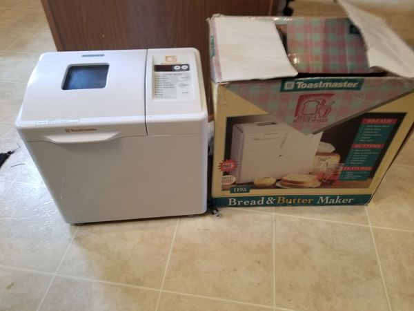 Toastmaster bread and butter maker