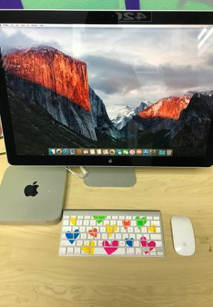 """Apple Mac mini late 2014 with 24"""" Apple monitor for Sale in Houston, TX"""