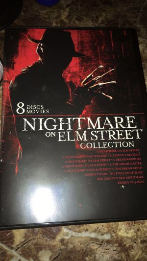NIGHTMARE ON ELM STREET MOVIE COLLECTION for Sale in Forest Park, IL