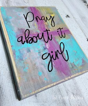 Pray About it Girl for Sale in Wayne, IL