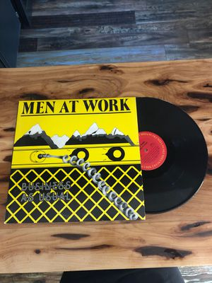 Men at Work: Business as Usual Vinyl for Sale in Richland, WA