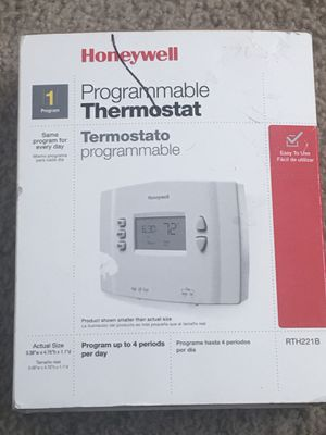 Honeywell Programmable thermostat for Sale in Nashville, TN