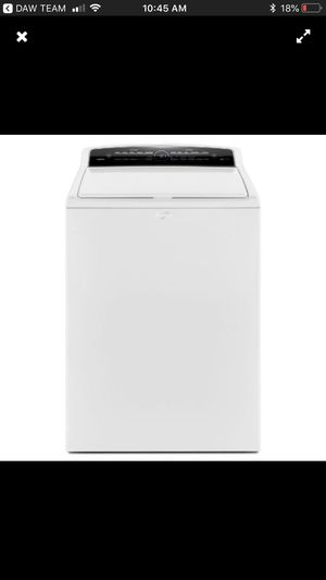 Brand new in the box washer and dryer by whoops large capacity for Sale in Houston, TX