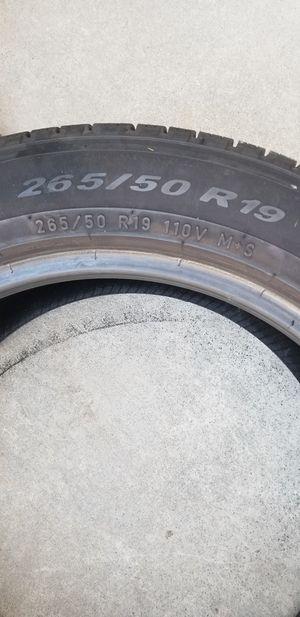 Pirelli tire 265/50/19 for Sale in Sacramento, CA