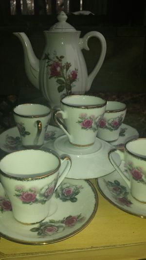 Vintage Chinese Floral Tea Set for Sale in Fairfax, VA