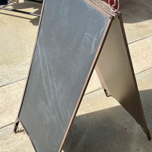 A Frame Double Sided Chalk Board for Sale in Rancho Cucamonga, CA