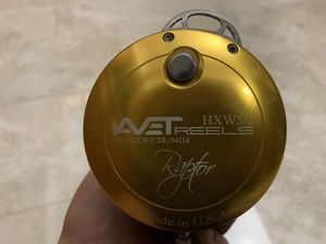 Avet HXW Raptor 5/2 2 speed fishing reel for Sale in Norwalk, CA