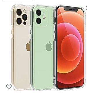 Temdan Clear Case for iPhone 12 Case, iPhone 12 Pro Case, Drop Protection with Premium Clear Composite Material Ultra-Clear Anti-Scratch Anti-Yellow for Sale in Montebello, CA