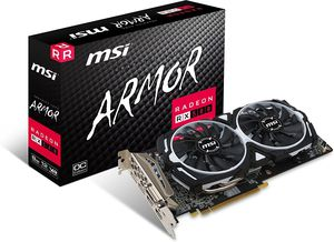 Msi armor rx580 8gb graphics card for Sale in Decatur, GA
