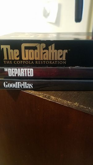 The God Father Trillogy + 2 more films for Sale in Milford, DE