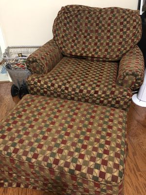 Chair and Ottoman for Sale in Pensacola, FL