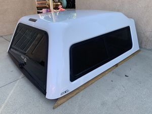 Chevy Silverado Fiberglass camper shell — new - crew cab for Sale in Norwalk, CA
