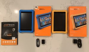 Fire HD Kids Edition 2-pack for Sale in Huntington Beach, CA