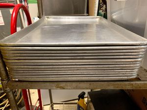 Large stainless steel tray commercial for Sale in Raleigh, NC