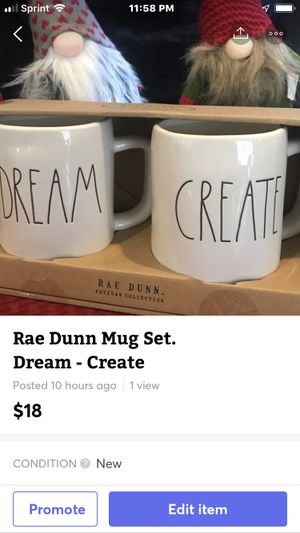 Rae Dunn Mug Set for Sale in Sanger, CA