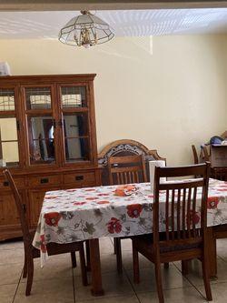 Dining Table and Vitrina for Sale in San Bernardino,  CA