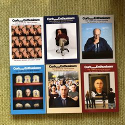 Curb Your Enthusiasm Seasons 1-6 for Sale in Fairfield,  CA