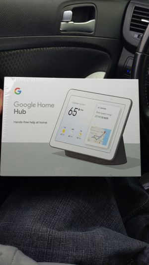 Google home hub+ USB modem which of the 2 are used for Sale in Bakersfield, CA