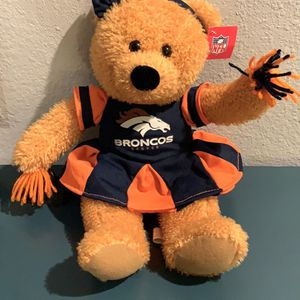 NFL Plush Teddy Bear Cheerleader NEW WITH TAGS for Sale in Englewood, CO