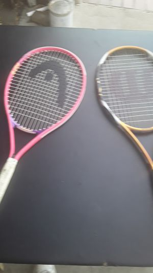 Tennis Rackets Both For $10 for Sale in Riverside, CA